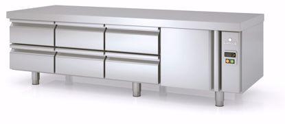 Koelwerkbank - MFBP-195C  - Coreco - (undercounter, zonder koelmachine)