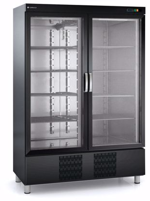 Koelkast met glazen deur- RVC-1302-NE - Coreco