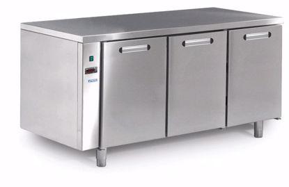 Koelwerkbank - TRK 603 R/C TN 3D m.iso - Afinox - (zonder werkblad)