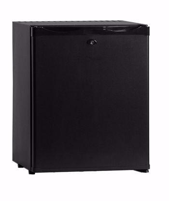 Minibar CTM32 Zwart met dichte deur (absorptiesysteem)