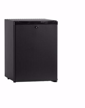 Minibar CTM42 Zwart met dichte deur (absorptiesysteem)