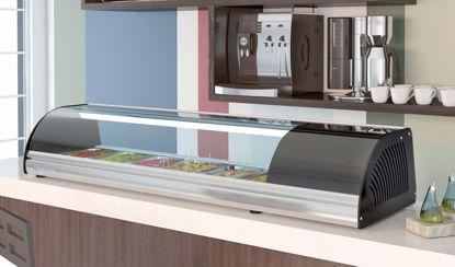 Opzetvitrine - BCS-8  - Coreco - (sushi koeler)