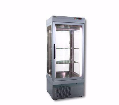 Vlees-Vis koelvitrine - CAR 3 NFP - Tekna - (4 zijden glas)