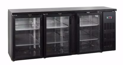 Backbar koelkast - CBC310G  - Esta - (counter bottle cooler)
