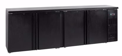 Backbar koelkast - CBC410  - Esta - (counter bottle cooler)