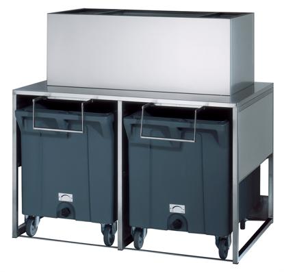 IJsbunker - Dubbele Roller BIN100 M350 - Brema
