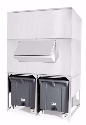 IJsbunker - Dubbele Roller BIN1200 M1500 - Brema