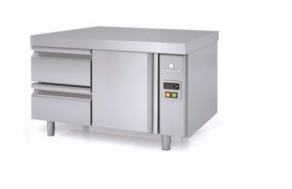 Koelwerkbank - MFBP-105C  - Coreco - (undercounter, zonder koelmachine)