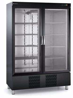 Display- drankkoelkast - RVC-1302-NE, ZWART - Coreco