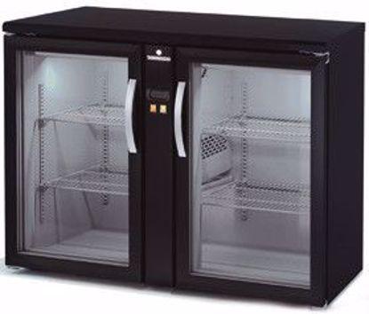 Backbar koelkast - SBEP-120 - 2 deurs - Coreco - (zonder koelmachine)