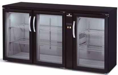 Backbar koelkast - SBEP-170 - 3 deurs - Coreco - (zonder koelmachine)