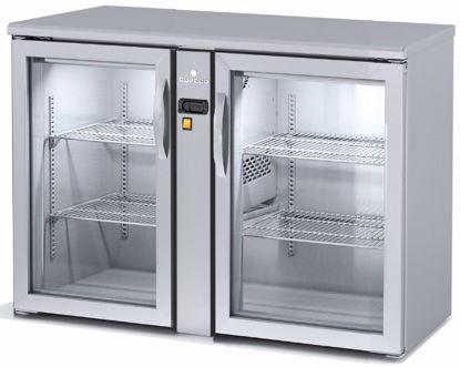 Backbar koelkast - SBIEP-120 - 2 deurs - Coreco - (zonder koelmachine)