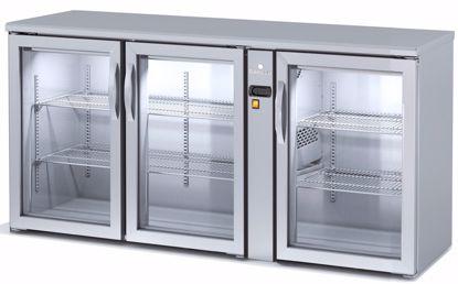Backbar koelkast - SBIEP-170 - 3 deurs - Coreco - (zonder koelmachine)