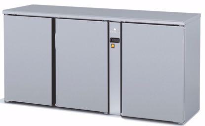 Backbar koelkast - SBIP-170 - 3 deurs - Coreco - (zonder koelmachine)