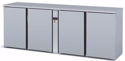 Backbar koelkast - SBIP-220 - 4 deurs - Coreco - (zonder koelmachine)