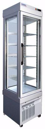 Gebaksvitrine - 2300 NFP ALUMINIUM - Tekna - (3 zijden glas)