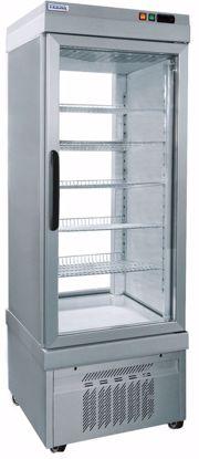 Display vrieskast 4200 NFN ALUMINIUM - Tekna - (2 zijden glas)