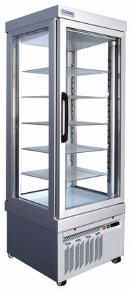 Gebaksvitrine - 4400 PV BRONS - Tekna - (4 zijden glas)