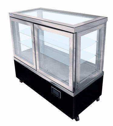 Gebaksvitrine - CIELO 76 NFP 5LE - Tekna - (5 zijden glas)