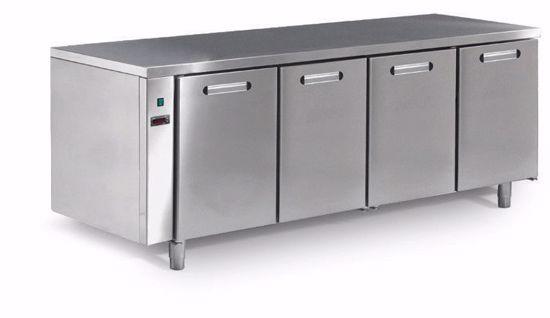 Koelwerkbank - TRK 604 R/C TN 4D m.iso - Afinox - (zonder werkblad)