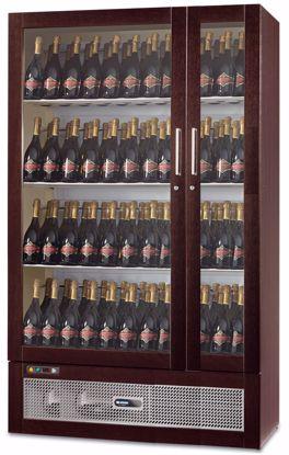 Wijnkast - WIJN TALENTO 1185 Wengé - Afinox