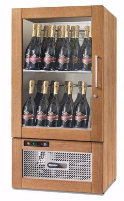 Wijnkast - WIJN TALENTO 590 SL Wengé - Afinox