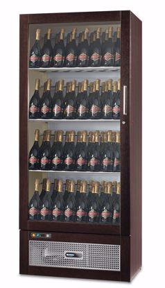 Wijnkast - WIJN TALENTO 830 Wengé - Afinox