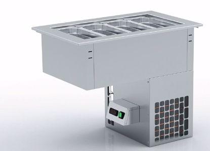 Drop-in voor schepijs - CH4-GI - Coreco   (met ondergebouwde machine)