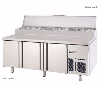 Fastfood koelwerkbank - MR1620EN - Infrico - Sale