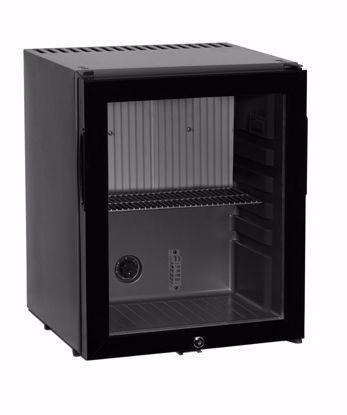 Minibar CTM32G Zwart met glasdeur (absorptiesysteem)