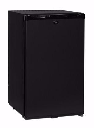 Minibar CTM52 Zwart met dichte deur (absorptiesysteem)