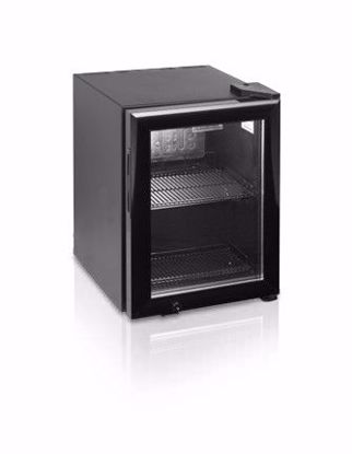 Koelkast met glasdeur BC30I - Esta - (Zwart)