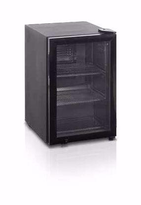 Koelkast met glasdeur BC60I - Esta - (Zwart)