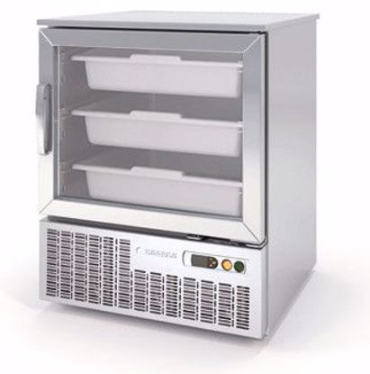 Dieptekoelkast 1/1 GN - Coreco (met glas deur)  -4/+4°C