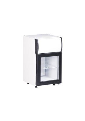 Gebruikte koelkast met glasdeur KBC25C - Kleo