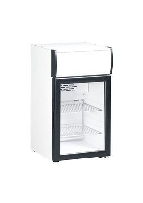 Gebruikte koelkast met glasdeur KBC50C - Kleo