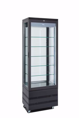 Display vitrine EVO 670 4LE  P Roterend - Black - Tekna
