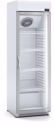 Koelkast met glazen deur - ECC 620  - Coreco
