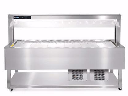 Gastrobuffet - ESSENCE BLUE PLUS 6/1 RVS - Afinox
