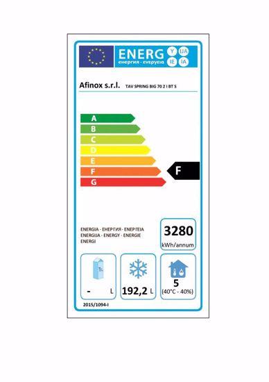 Vrieswerkbank - SPRING 702 I/A BT R290 2D  - Afinox